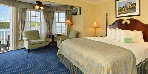 Bay View Room 500x250 - Bar Harbor Inn & Spa - Bar Harbor, ME