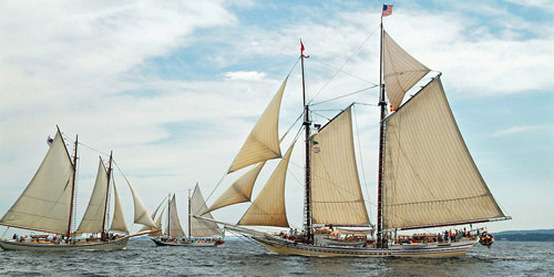 Great Schooner Race - Maine Windjammers - Camden, ME - Photo Credit Ben Ehling