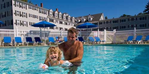 Kids In Pool - Nonantum Resort - Kennebunkport, ME