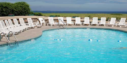 Outdoor Pool - Sea View Inn - Old Orchard Beach, ME