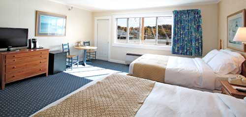 Double Room- Fisherman's Wharf Inn - Boothbay Harbor ME