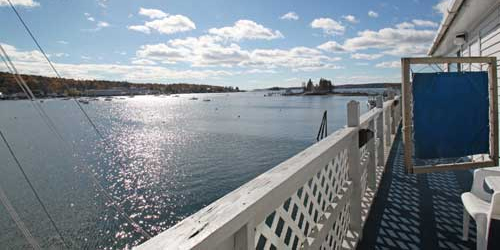 Daytime View - Fisherman's Wharf Inn - Boothbay Harbor ME