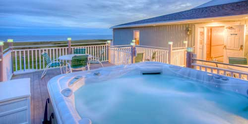 Seaside Inn Outdoor Hot Tub  Kennebunk Beach ME