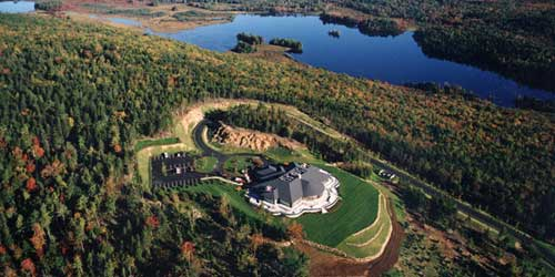 Aerial View - Point Lookout Resort - Northport, ME