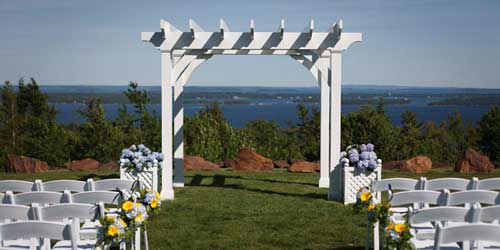 Wedding Chapel - Point Lookout Resort - Northport, ME