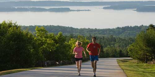 Jogging - Point Lookout Resort - Northport, ME