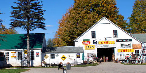 Steam Mill Antiques in Bethel Maine