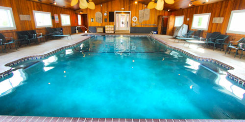 Indoor Pool Cabin - Innseason Resort Falls at Ogunquit - Ogunquit, ME