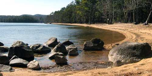 Sebago Lake Beach at Sebago Lake State Park, Casco-credit-Maine Office of Tourism