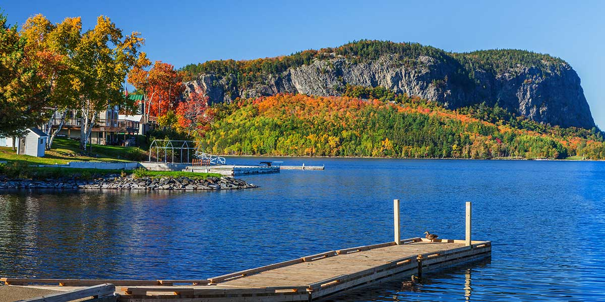 Mount Kineo over Moosehead Lake, Rockwood - Maine Office of Tourism