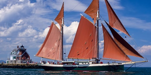 Schooner Angelique - Maine Windjammers - Camden, ME - Photo Credit Andrew Durfor