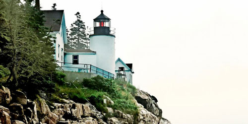 bass harbor head lighthouse credit Maine Office of Tourism