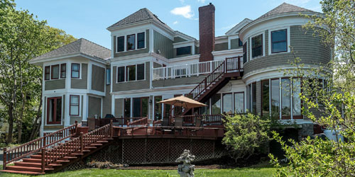 Summer Exterior View - Saltair Inn - Bar Harbor, ME
