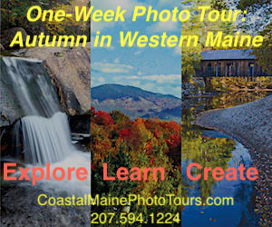 Coastal Maine Photo Tours - Join us this fall for our Autumn in Western Maine week-long Photo Tour! Call today for more details.