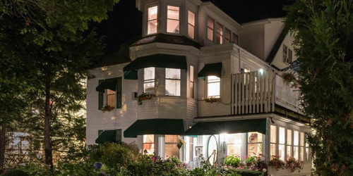 Exterior Night View - Atlantic Oceanside Hotel & Event Center - Bar Harbor, ME