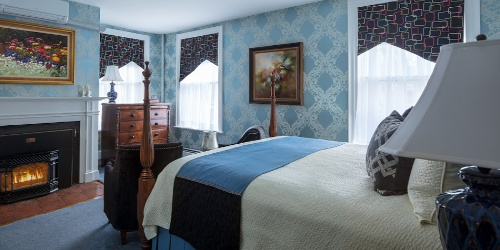 Ophelia Room - Captain Lord Mansion - Kennebunkport, ME