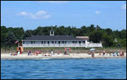 View from the Ocean - Seaside Inn & Cottages - Kennebunk Beach, ME