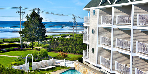 Side Ocean View - Anchorage Inn - York Beach, ME