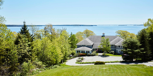 View from Hilltop Building - Inn at Ocean's Edge - Lincolnville, ME