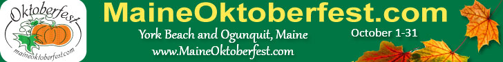 Maine Oktoberfest - All Month Long in York Beach & Ogunquit, ME! Click here for events and festival info.