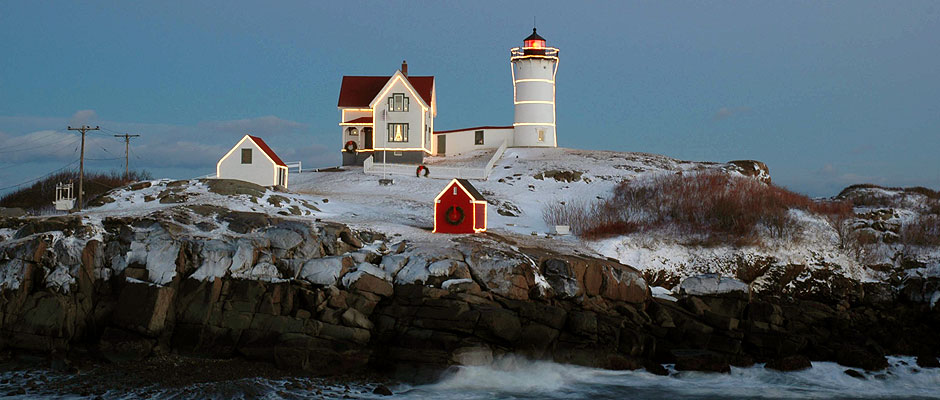 Nubble Lighthouse, York, Ma