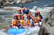 Family Adventure - Crab Apple Whitewater - The Forks, ME