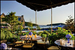 Outdoor Waterfront Dining - Harborside Hotel, Spa & Marina - Bar Harbor, ME