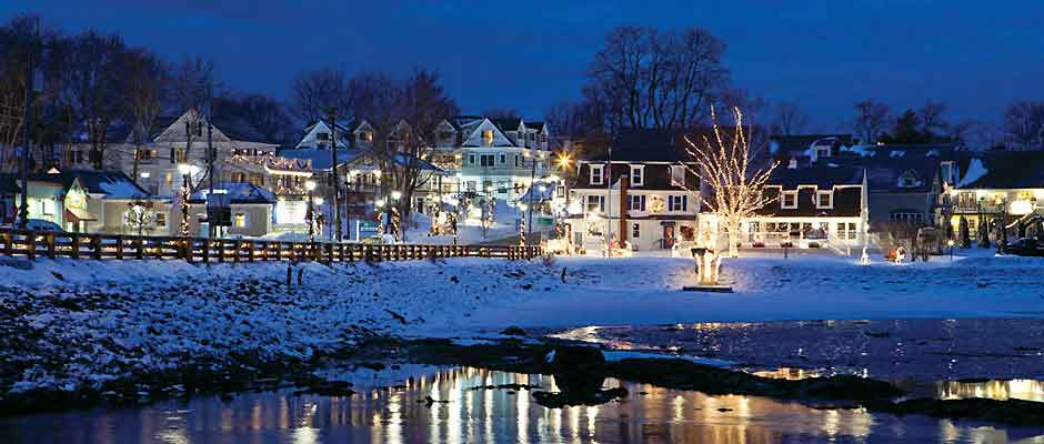 Winter in Kennebunkport