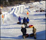 tubing at Seacoast Adventure in Maine