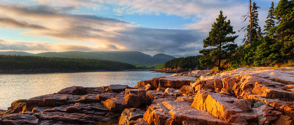Acadia National Park in Bar Harbor Maine