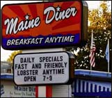 Maine Diner in Wells Maine