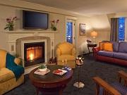 Winter Fireplace Suite - Harborside Hotel, Spa & Marina - Bar Harbor, ME