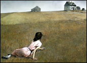 Andrew Wyeth painting Christina's World